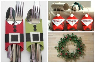 Addobbi di Natale fai da te: 10 idee originali per riciclare i rotoli di carta igienica