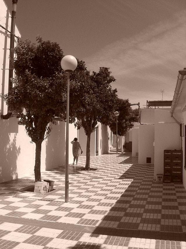 Strada di Marinaleda, Andalusia