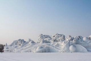 Le 10 sculture di neve più spettacolari del 2015