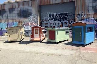 Il villaggio della dignità: case per i senzatetto con materiali riciclati