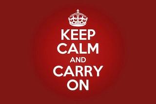 Keep Calm and Carry On: la vera storia di uno dei manifesti più famosi al mondo