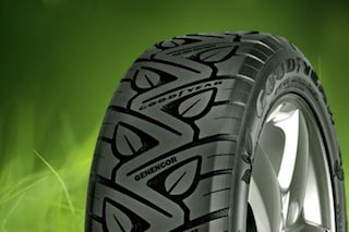 Goodyear: ecco il primo pneumatico realizzato con gli scarti del riso