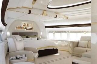 Un superyacht nel cielo: un Boeing 747-8 diventa un jet privato extra lusso