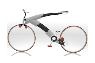 Nulla, la prima bicicletta senza telaio