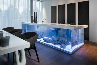 Ocean Keuken: un acquario come cucina