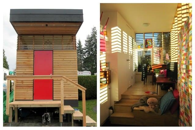 Vivere in 17 metri quadri la mini casa con tutti i comfort - Calcolare metri quadri casa ...