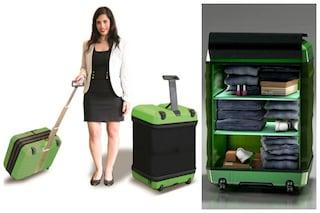 Fugu Luggage: la prima valigia gonfiabile per tutte le esigenze (VIDEO)