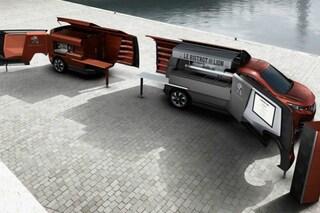 Peugeot: ecco il primo veicolo che diventa ristorante