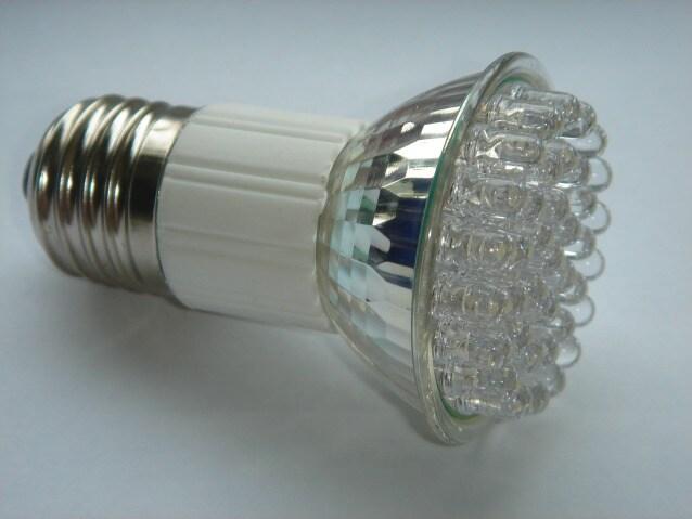 Una delle prime versioni di lampada a led
