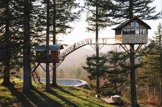 The Cinder Cone, la prima casa sull'albero con skatepark privato