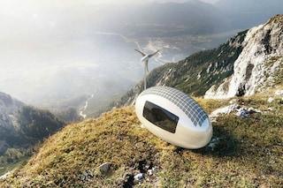 Eco-capsula, la prima casa mobile per girare il mondo con i comfort dell'albergo