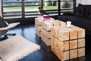 Il cubo di Rubik diventa un tavolino fluttuante