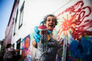 La street art non ha età: arriva Lata 65