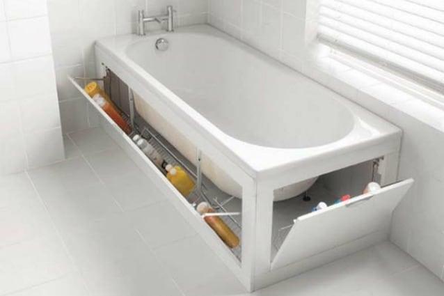 Vasca Da Bagno Più Piccola : I 10 modi più geniali per recuperare spazio in bagno