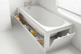I 10 modi più geniali per recuperare spazio in bagno