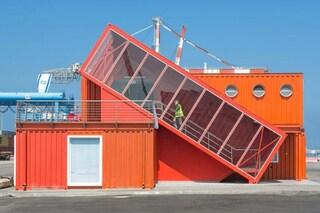 Israele: come trasformare 7 vecchi container in un ufficio moderno