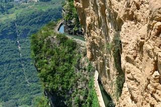 Cina: un acquedotto da vertigini