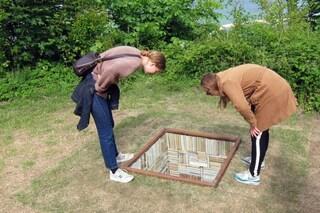 Danimarca: se il pozzo diventa una libreria nel terreno