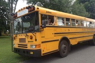Da scuolabus a monolocale: ecco l'incredibile trasformazione