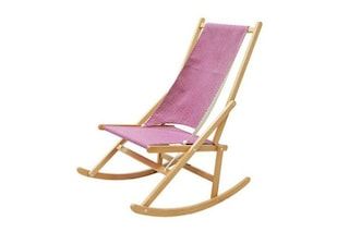 Relax d'estate: ecco la prima sedia a sdraio che dondola