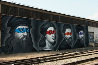 Leonardo, Raffaello, Michelangelo e Donatello: le tartarughe ninja del Rinascimento