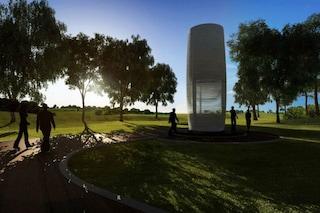 Addio inquinamento: arriva la prima torre mangia smog che produce gioielli