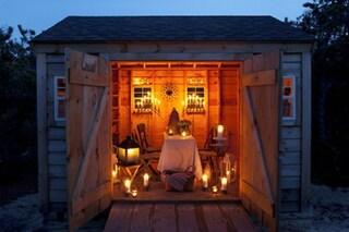 Tendenze da outdoor: come trasformare il deposito per attrezzi in una piccola casa