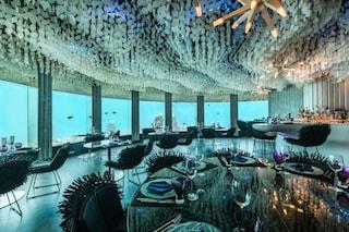 Mangiare con i pesci: alle Maldive il ristorante è sott'acqua