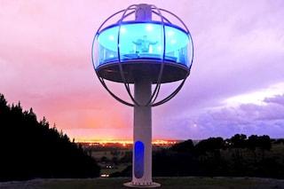 The Skysphere: vivere a 360° sul mondo