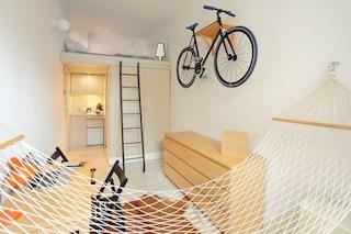 Vivere in 13 metri quadrati ma con tutti i comfort