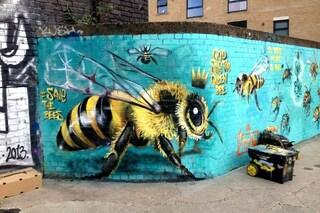 Londra: la street art che salva le api