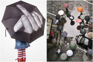 Pioggia in arrivo? Ecco gli ombrelli più creativi che abbiate mai visto