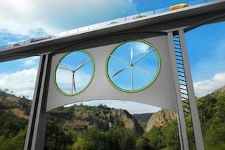 Energia pulita: elettricità da viadotti di ferrovie e autostrade