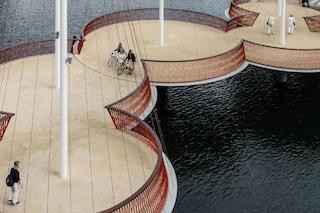 Copenaghen: il primo ponte circolare che riunisce le persone