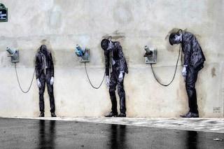 Parigi: la street art interattiva invade la città