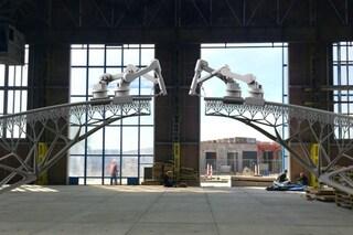 Amsterdam: ecco il primo ponte d'acciaio stampato in 3D