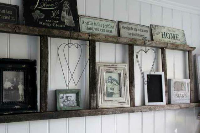 Scaletta In Legno Antica : Riuso creativo modi per riciclare le vecchie scale di legno