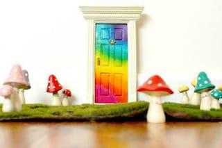 Magia fai da te: come realizzare una porta delle fate per i vostri bambini