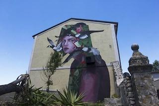 San Potito Sannitico, il comune campano diventa un museo a cielo aperto con la street art