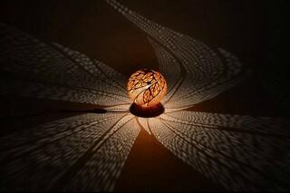 Come ricavare dalle zucche lampade che proiettano mandala