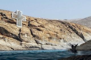 La chiesa nella roccia: ecco dove pregare guardando il Mar Egeo