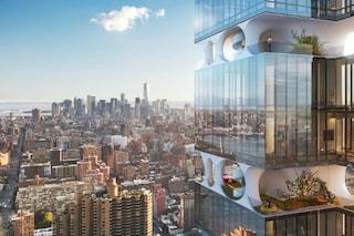New York: arriva il primo grattacielo con i piani giardino
