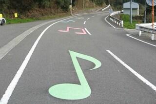 Musical road: ecco la strada che suona quando si guida