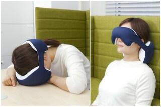 King Eye Mask: ecco il cuscino per dormire ovunque si desidera