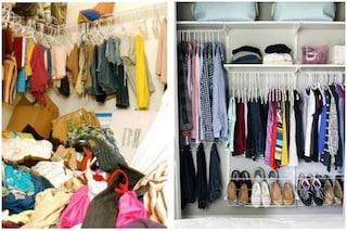 Riordinare l'armadio rende felici e aiuta ad avere successo: ecco il Metodo Konmari