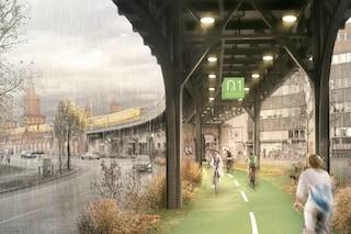 Berlino, arriva la prima pista ciclabile al coperto della città