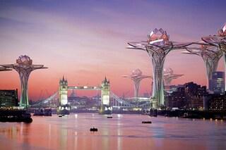 City in the sky: ecco le città del futuro come fiori di loto sospesi nel cielo