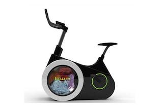 Tagli alla bolletta elettrica: ecco la cyclette che è anche lavatrice