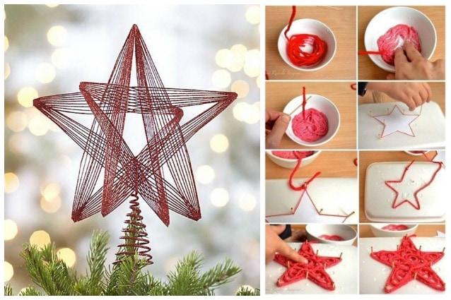 Lavoretti Di Natale Con Stuzzicadenti.Natale In Arrivo Come Creare Facili Addobbi Con Il Filo