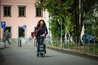 Olaf: ecco il primo zaino che diventa trolley, skateboard e monopattino